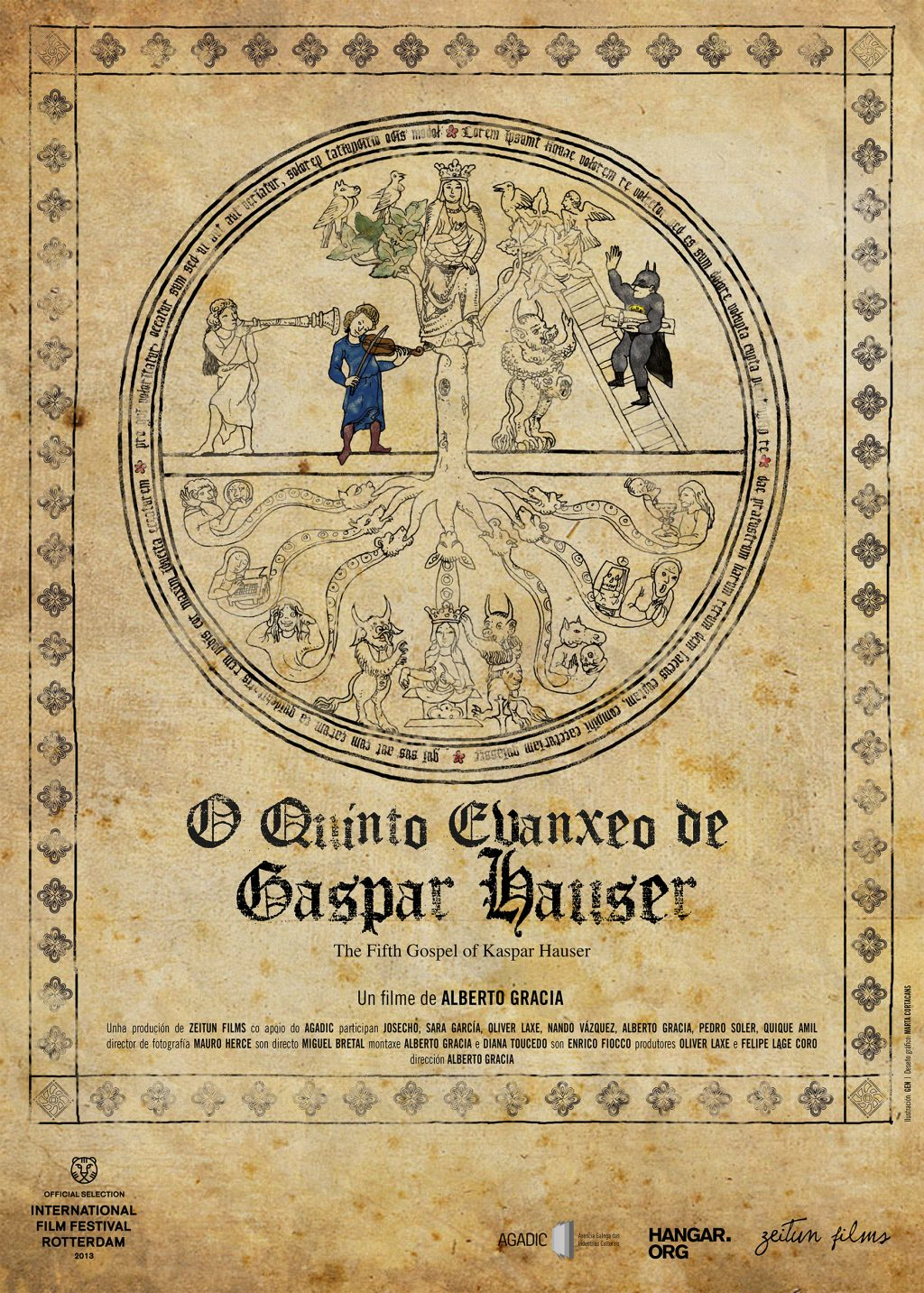 THE_FIFTH_GOSPEL_OF_KASPAR_HAUSER - poster